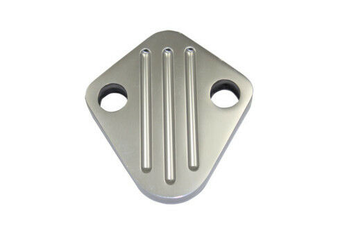 CHEVROLET BIG BLOCK BLOCK OFF PLATE ALUMINIUM