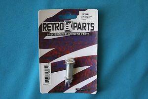 CréAtif Retro Parts Flush Mount Chrome Jack Pour Guitare électrique Ou Acoustique, Rp394c-afficher Le Titre D'origine