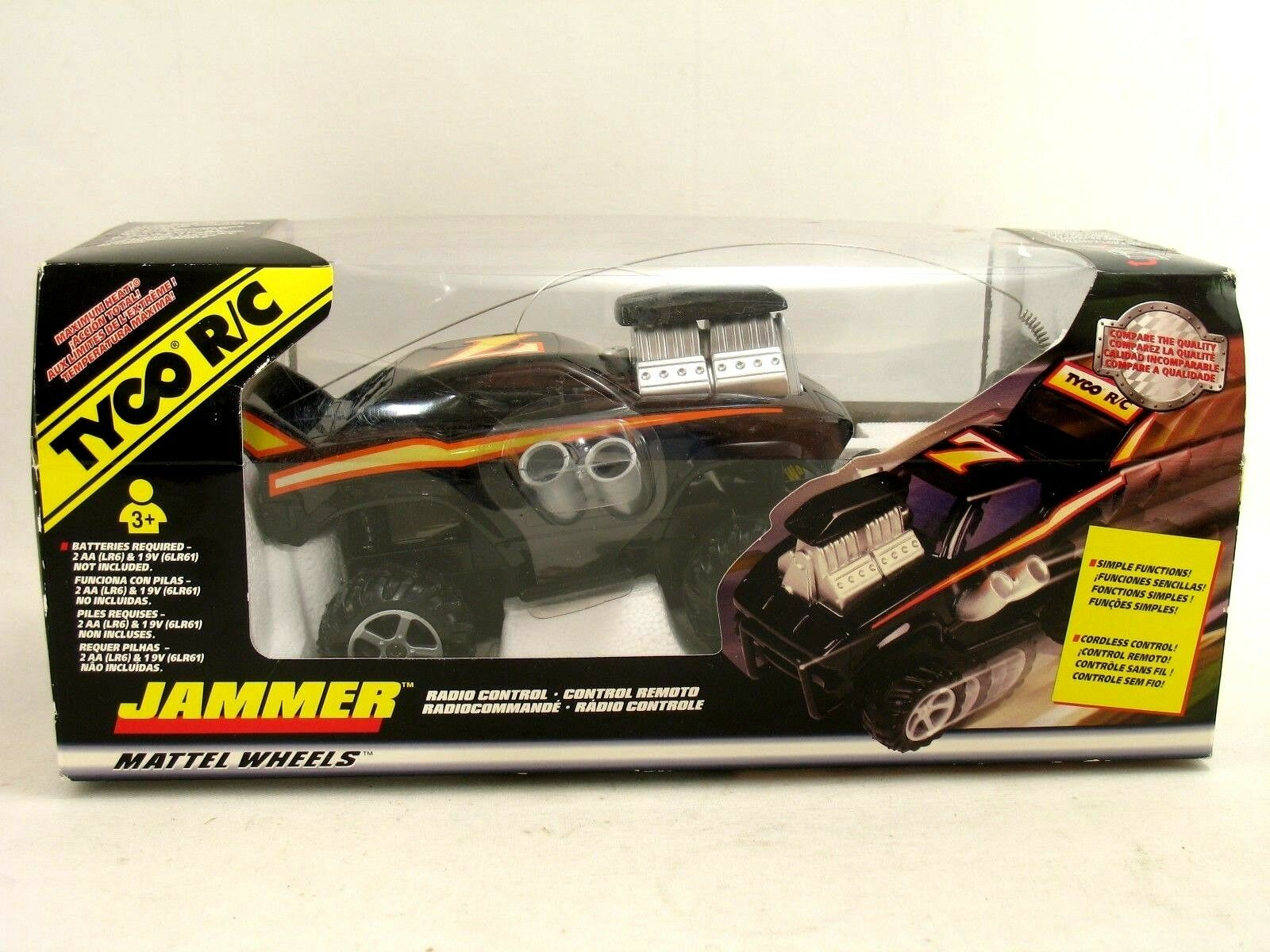 Tyco R C Jammerfrom,34347 1998 27 MHz ny and seled in Original Box