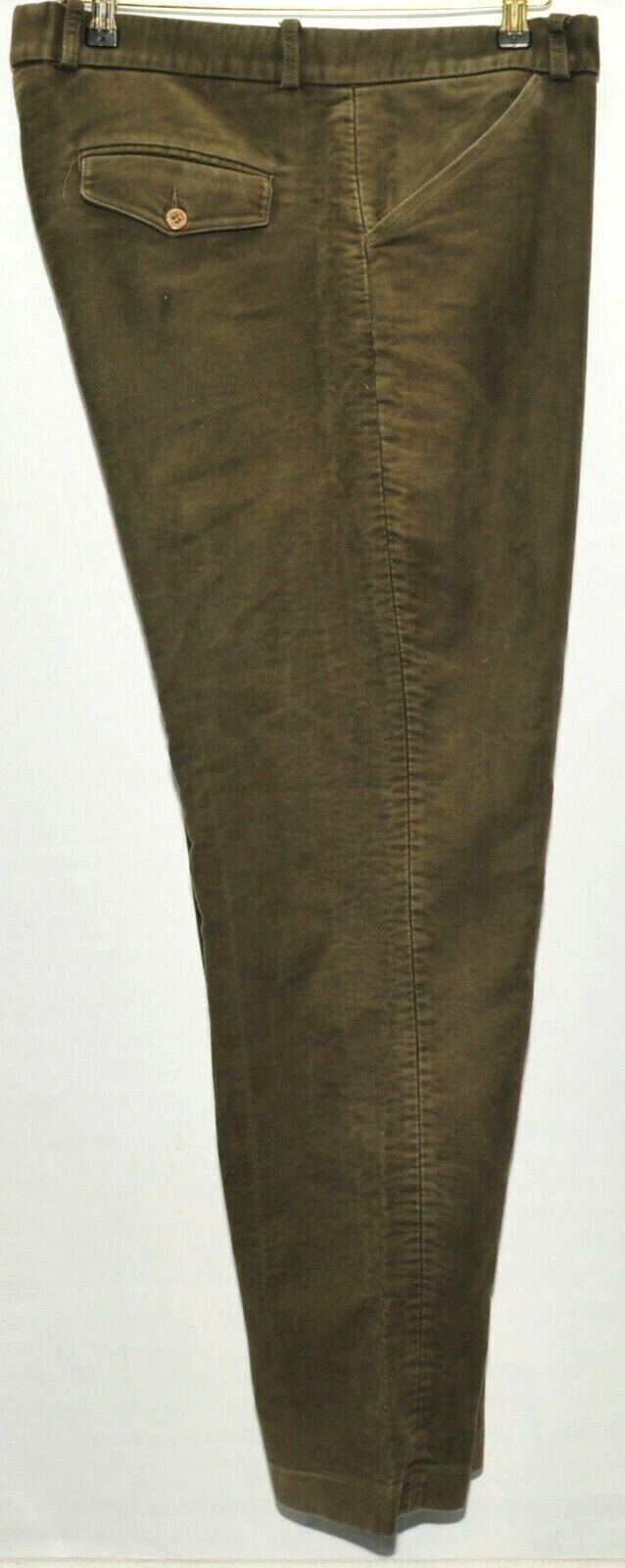 Hommes HOGGS OF FIFE vert MOLESKIN TROUSERS Taille 38 W  31  L