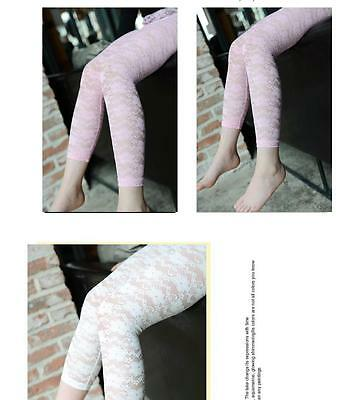 GORGEOUS BABY GIRLS LACE LEGGINGS TROUSERS PANTS 5 COLORS