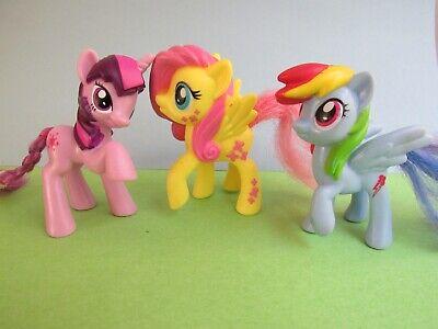 Lot Of 3 My Little Pony Happy Meal Kids Toys Figures Mcdonalds Ebay