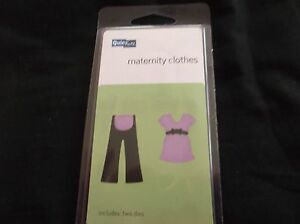2x2 maternity clothes cutting die from quickutz includes 2 dies - Preston, United Kingdom - 2x2 maternity clothes cutting die from quickutz includes 2 dies - Preston, United Kingdom