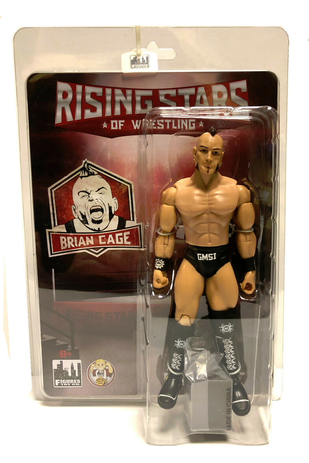 Official Rising Sterns of Wrestling - Brian Cage Wirkung Figure