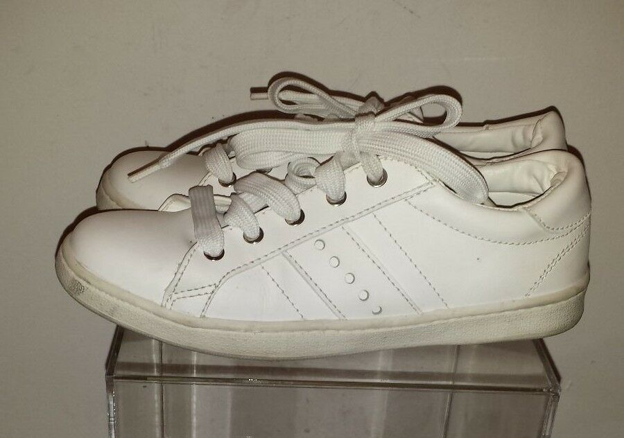 ZARA Sneaker White Athletic shoes size 37  made in Portugal
