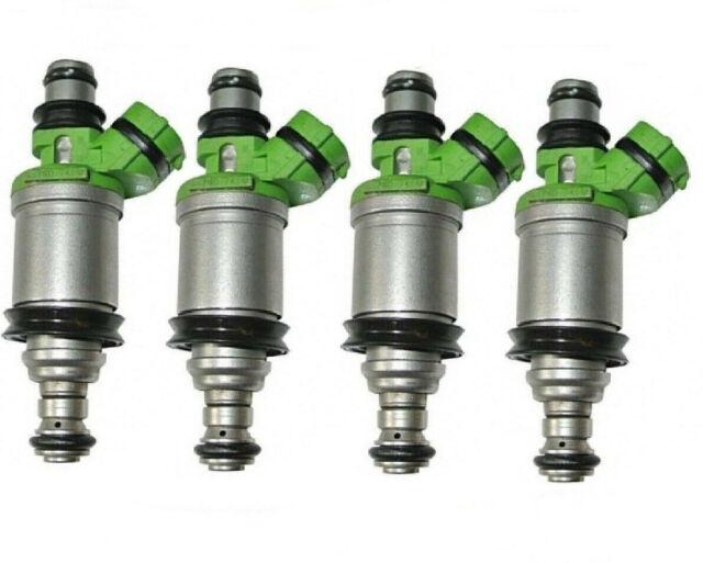 23250-74140 Toyota 2.0L 2.2L Remanufactured Denso Fuel Injector Set 4