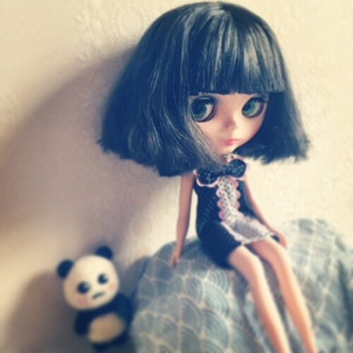 """12/"""" Neo Blythe Doll Short Hair Factory Nude Doll from Factory JSW1005-2"""