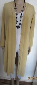 NWT-BEIGE-DUSTER-STYLE-LIGHT-WEIGHT-JACKET-PLUS-SIZE-24-26