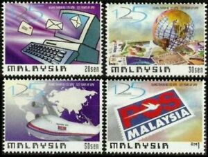 SJ-125-Years-Union-Postal-Universal-Malaysia-1999-Aeroplane-UPU-stamp-MNH