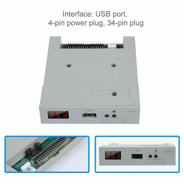 """SFR1M44-U100 3.5"""" 1.44MB 34Pin USB SSD Floppy Drive Emulator for YAMAHA GOTEK RH"""