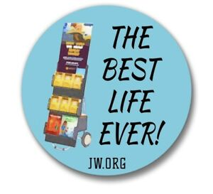 Pioneer Tote Bag Jehovah/'s Witness BEST LIFE EVER jw.org Gift