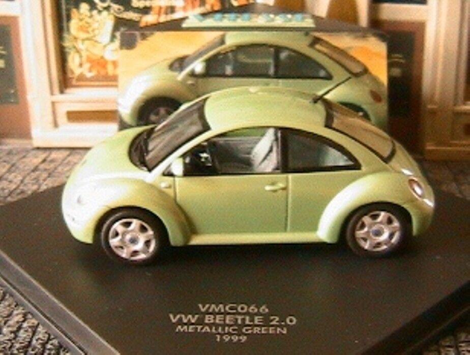 VW NEW BEETLE 2.0 1999 1999 1999 METALLIC vert VITESSE 1 43 VERT acbd70