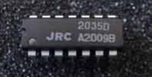 JRC NJM2035 DIP-14 STEREO MODULATOR