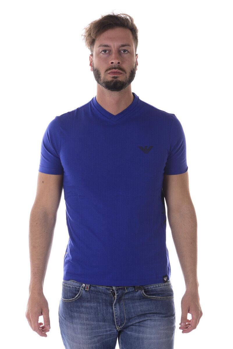 Armani Jeans  Camiseta Sudadera Algodón Hombre Azul 6Y6T166J00Z 1583 Sz M hacer oferta  últimos estilos