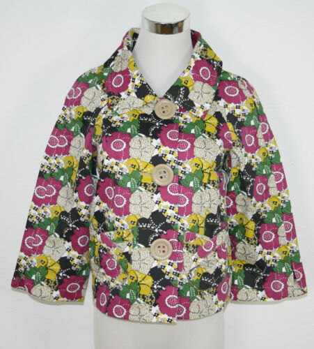 "VERO MODA Blazer Jacke /""Romana Short Jacket/"" rokoko purple geblümt *UVP 39,95€"