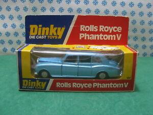 Vintage - Boîte de menthe Dinky Supertoys Limousine Rolls-Royce Phantom V