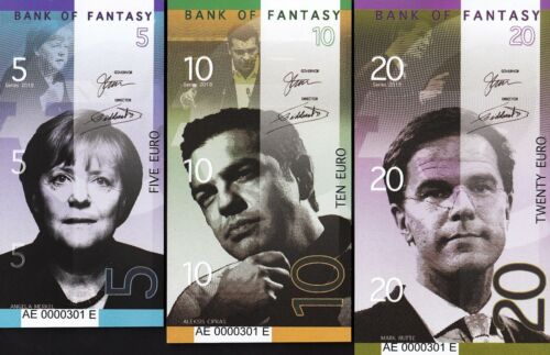 Germany Greece Netherlands Spain Italy France Leaders 5 10 20 50 100 200 Euro