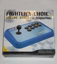 PLAYSTATION System FIGHTER'S CHOICE ARCADE STICK Video Game Controller Joystick