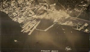 Ketchikan-AK-Thomas-Basin-3-5x6-Inches-Real-Photo-Postcard-Fisher