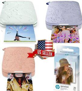 🌈📸 HP Sprocket I Select I Portable Photo Printer Paper Sheet Gift SEALED 🎁 ✨