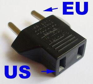Image Is Loading Us Usa To Eu Europe Euro Ac