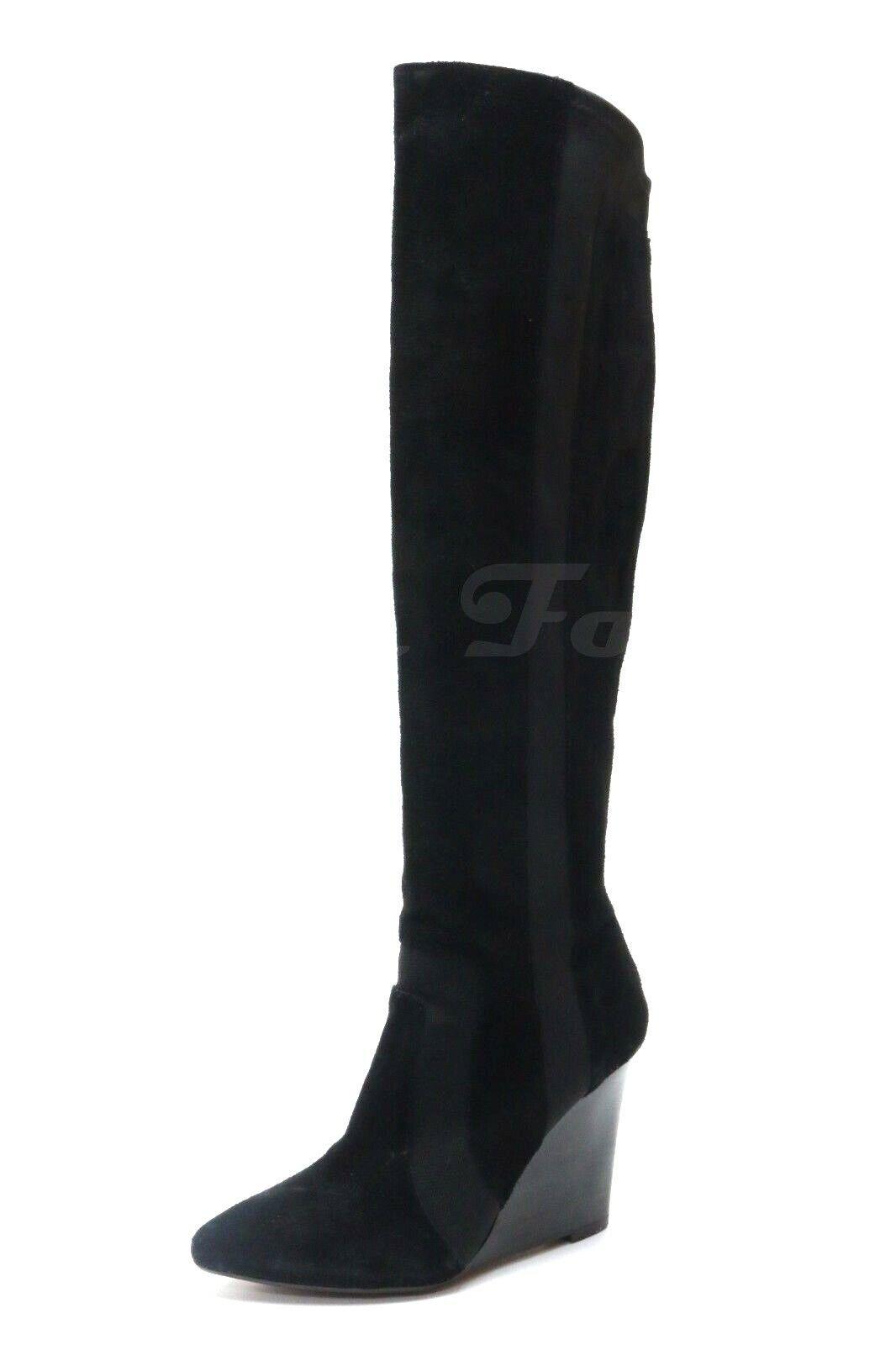 negozio online donna REPORT SIGNATURE  ISLAH  nero suede wedge pull pull pull on stivali sz. 8 NEW   qualità di prima classe