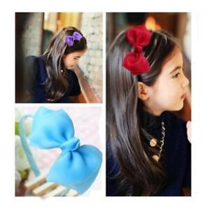 De-Belles-Grosses-Femmes-Bowknot-Ruban-Bandeau-Bow-Hairwear-De-Cadeaux