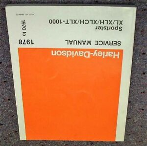 harley davidson sportster xlh 1977 factory service repair manual