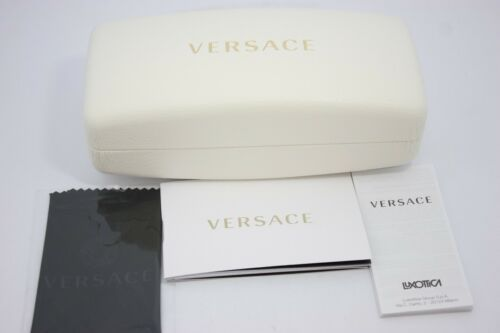 8d7d8a0dfe4 3 of 9 Versace Mod. 4253 5074 73 Ivory Gold Cats Authentic Boxed Designer  Sunglasses