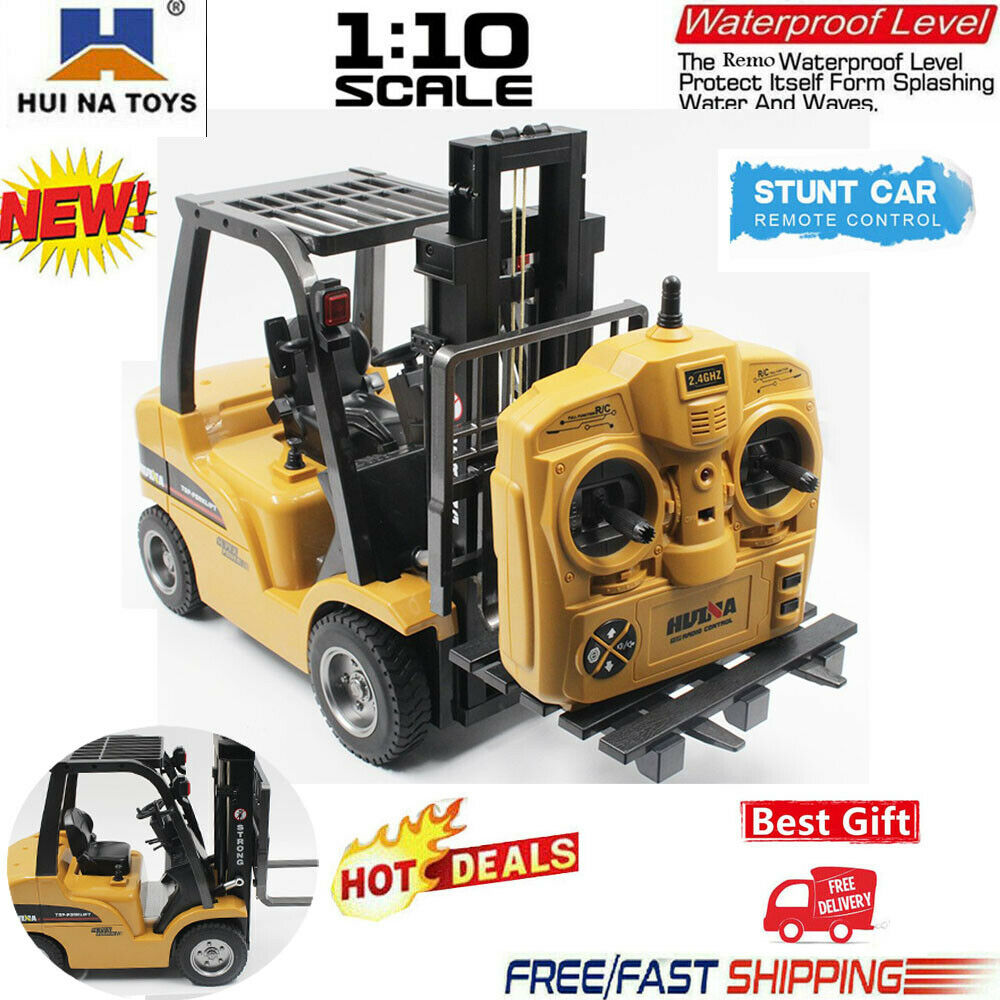 HUINA 1577 2.4G 8CH Electric RC Car 2-in-1 RC Forklift Truck
