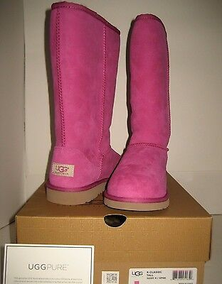 1a1daede796 NEW UGG Australia CLASSIC TALL Youth Big Girls US 5 EUR 35 Women US ...
