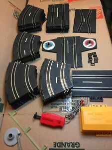 Vintage Artin Road Racing Spiral Tier Night Chase Track Lot Parts Etc No Cars