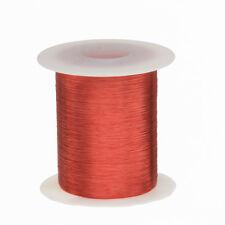 43 Awg Gauge Enameled Copper Magnet Wire 2 Oz 8262 Length 00024 155c Red