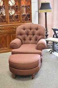 Image Is Loading OCCASIONAL CHAIR Amp OTTOMAN BY SHERRILL FURNITURE MODEL
