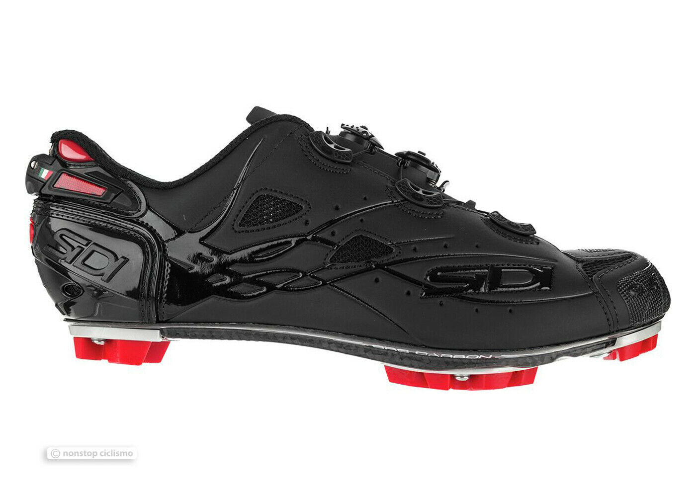 Neu 2020 Sidi MTB Tiger Carbon Mountainbike Schuhe: Total Schwarz