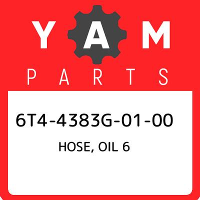 HOSE  OIL 5 Yamaha 6T4-4383H-01-00