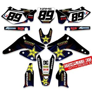 2003-2004-YAMAHA-YZ-250F-YZ450F-GRAPHICS-KIT-ROCKSTAR-MOTOCROSS-DIRT-BIKE