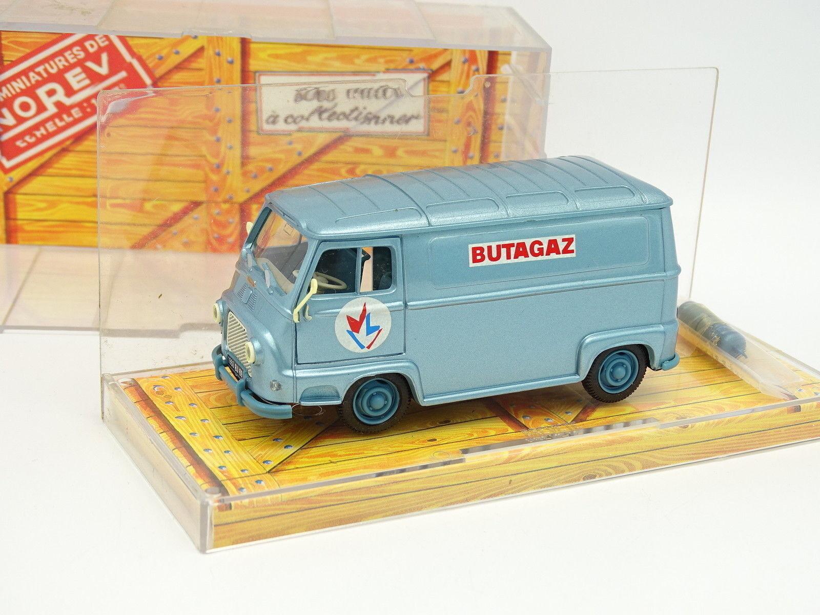 Norev 1 43 - Renault Estafette Butagaz + Flaschen