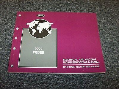 1997 Ford Probe Hatchback Electrical Wiring & Vacuum ...