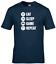 miniature 2 - Eat Sleep Game Repeat Kids T-Shirt Funny Gaming Tee Top Gamer