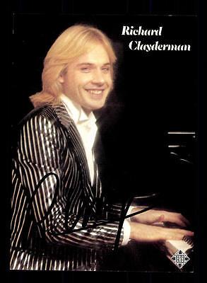 Sammeln & Seltenes Original, Nicht Zertifiziert AnpassungsfäHig Richard Clayderman Autogrammkarte Original Signiert ## Bc 87272