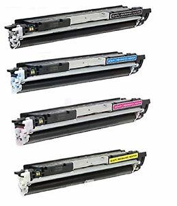 2-Pack//Pk CF350A 130A Black Toner For HP LaserJet M176n M177fw