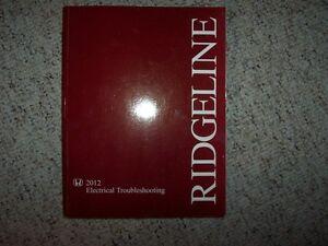 image is loading 2012-honda-ridgeline-electrical-wiring-diagram -troubleshooting-manual-