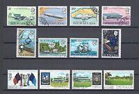 BERMUDA 1975-76 3 SETS USED Cat £18.50