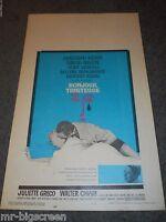 Bonjour Tristesse - Original Unfolded Window Card - 1958 - Jean Seberg