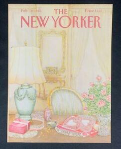 COVER-ONLY-The-New-Yorker-Magazine-February-18-1985-Jenni-Oliver