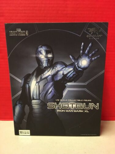 Iron Man 3 Comicave 1//12 Shotgun Mark XL MK40 Play Imaginative Figure NO LIGHT