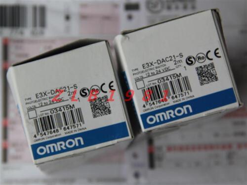 NEW Omron E3X-DAC21-S