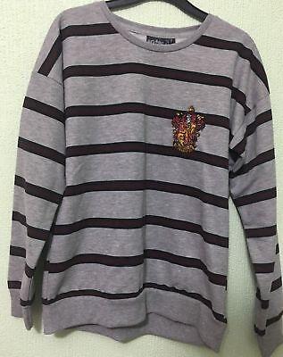 Women/'s Harry Potter Primark Sticker Print Gryffindor Jumper Sweatshirt Top