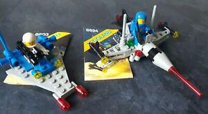 2x-LEGO-VINTAGE-Sets-6824-6803-complet-avec-instructions-vintage-et-rare